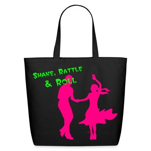 Shake, Rattle and Roll - Eco-Friendly Cotton Tote