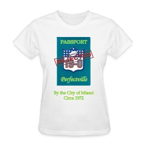 19-0 Rejected Miami 1972 Women's T-Shirt - Women's T-Shirt