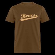 T-Shirts ~ Men's T-Shirt ~ BEERS - BASEketball Movie T-Shirt