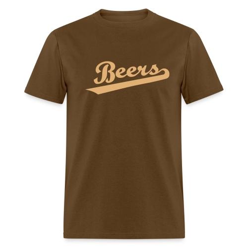 BEERS - BASEketball Movie T-Shirt - Men's T-Shirt