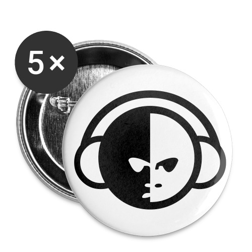 VIP Buttons (Classic) - Buttons large 2.2'' (5-pack)