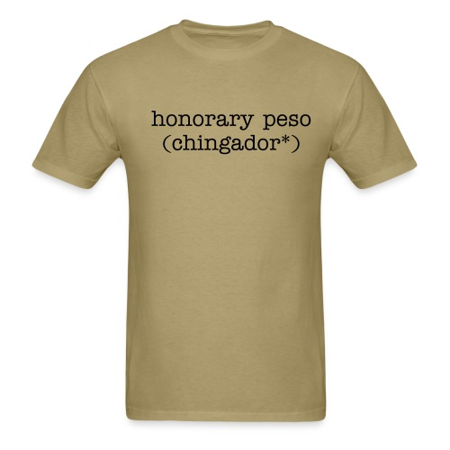 (chingador*) - Men's T-Shirt