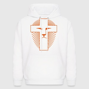 White Lion of Judah Sweatshirt - Men's Hoodie