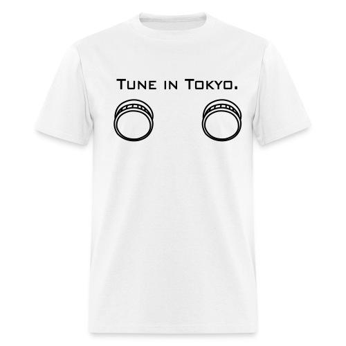 Tune in Tokyo - Men's T-Shirt