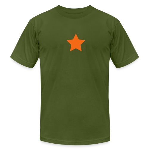star - Men's Fine Jersey T-Shirt