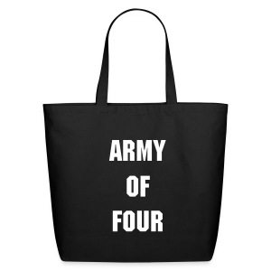 Army Of Four Tote-Bag - Eco-Friendly Cotton Tote