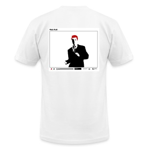 Rick Roll... the T-Shirt - Men's T-Shirt by American Apparel
