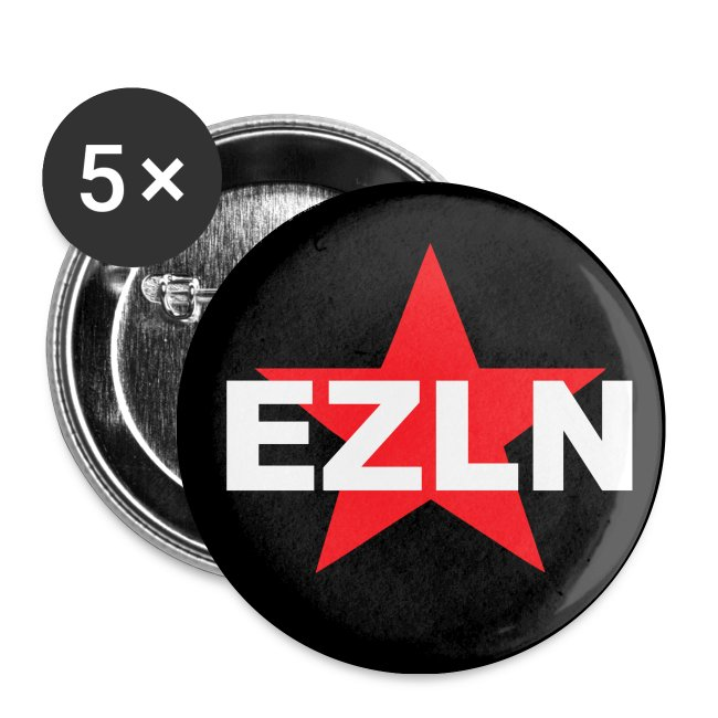 EZLN Zapatisas Buttons