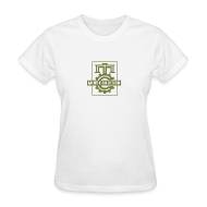 T-Shirts ~ Women's T-Shirt ~ Official MC Brand Gold