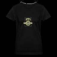 Women's T-Shirts ~ Women's V-Neck T-Shirt ~ Official MC Brand Gold