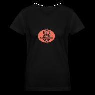 Women's T-Shirts ~ Women's V-Neck T-Shirt ~ Official MC Brand Circle