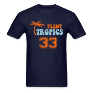 T-Shirts ~ Men's T-Shirt ~ FLINT TROPICS T-Shirt