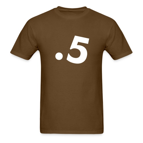 .5 T Brown - Men's T-Shirt