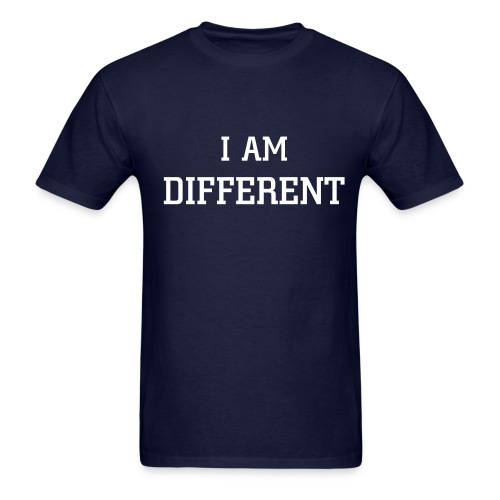 I am different blue - Men's T-Shirt