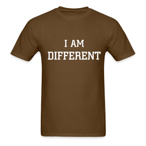 I am different brown - Men's T-Shirt
