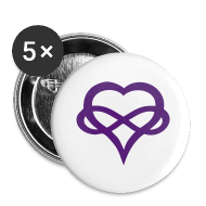 Buttons ~ Small Buttons ~ Polyamory Buttons
