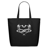 Bags & backpacks ~ Eco-Friendly Cotton Tote ~ PolyDragon Tote