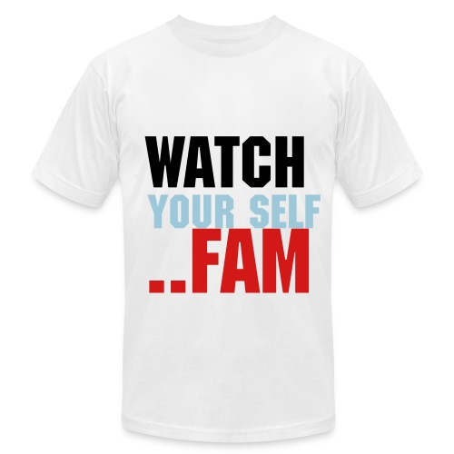 Watch your self T-Shirt - Men's  Jersey T-Shirt