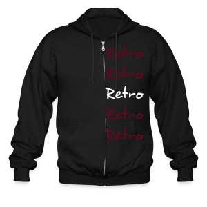 Retro Redefined - Men's Zip Hoodie