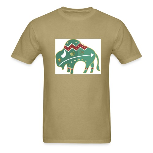 Spirit Buffalo - Large - Men's T-Shirt