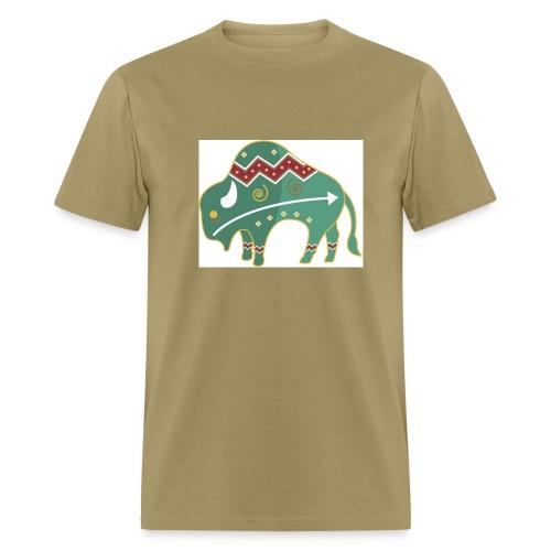 Spirit Buffalo - Large - Men's T-Shirt