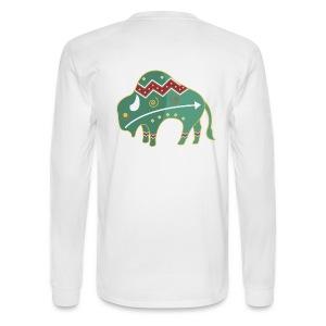 Spirit Buffalo - Large - Men's Long Sleeve T-Shirt