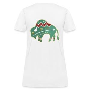 Spirit Buffalo - Large - Women's T-Shirt