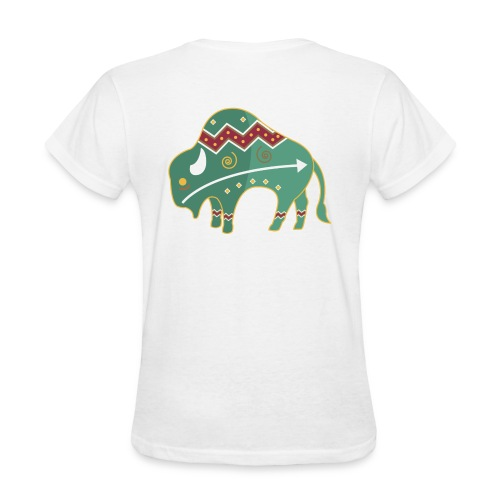 Spirit Buffalo - Large - Women's T-Shirt