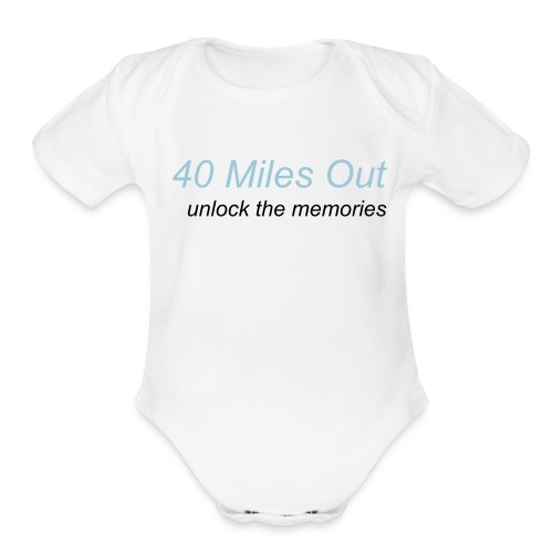 Short Sleeve One size - Organic Short Sleeve Baby Bodysuit