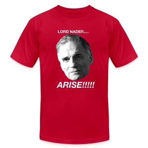 Lord Nader.... ARISE!!! - Men's T-Shirt by American Apparel