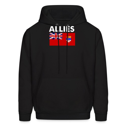 Allied Hoodie all ranks - Men's Hoodie