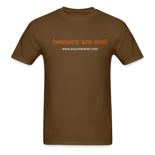 beaners are cool - Men's T-Shirt
