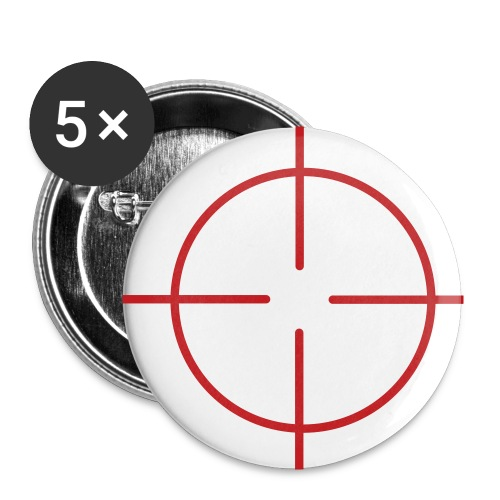 AIM / Target Button - Buttons small 1'' (5-pack)