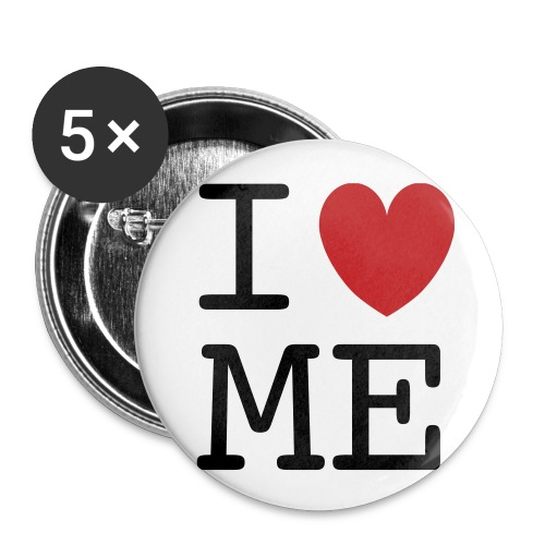 I love ME button - Buttons small 1'' (5-pack)