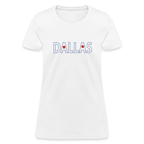 White Dallas Women - Women's T-Shirt