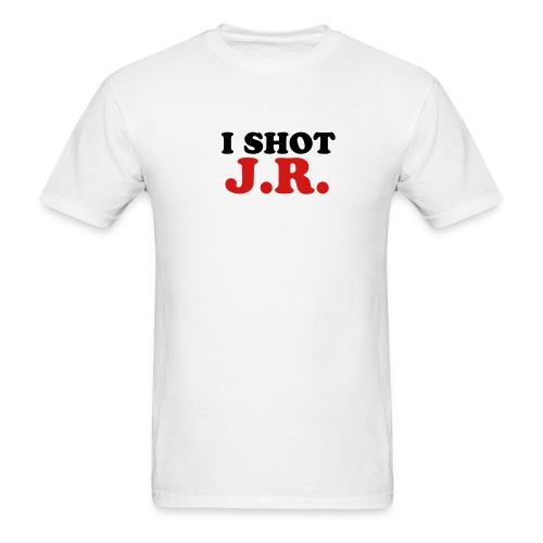 White I Shot JR Men - Men's T-Shirt