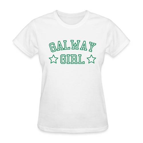 White Galway Girl Women - Women's T-Shirt