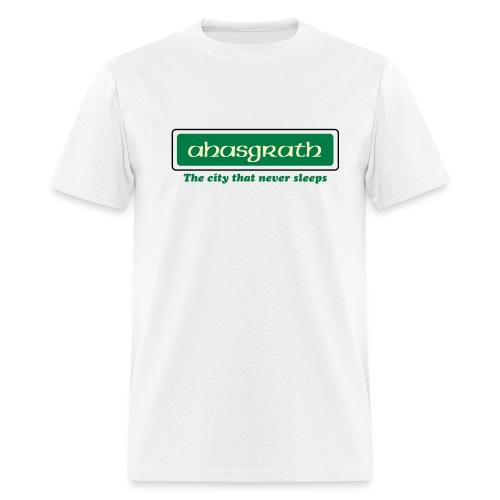 White Ahasgrath Men - Men's T-Shirt