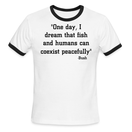 Fish and People - Men's Ringer T-Shirt