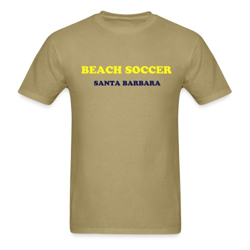 Beach Soccer / Santa Barbara - Men's T-Shirt