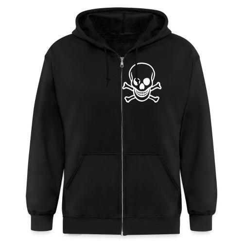 Hooded Villain - Men's Zip Hoodie
