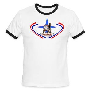 Men Shirt - Men's Ringer T-Shirt
