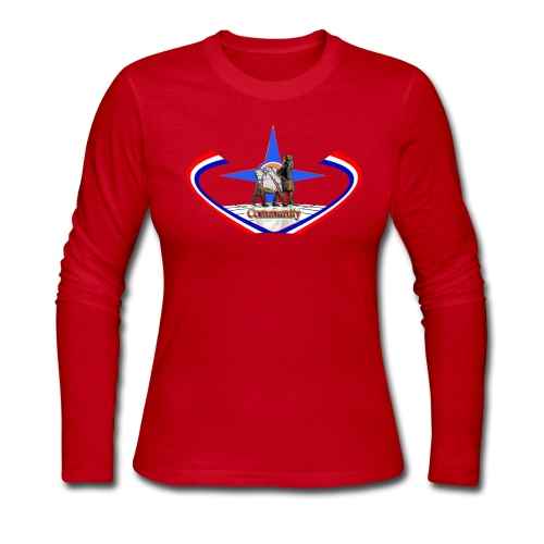 Women Shirt - Women's Long Sleeve Jersey T-Shirt