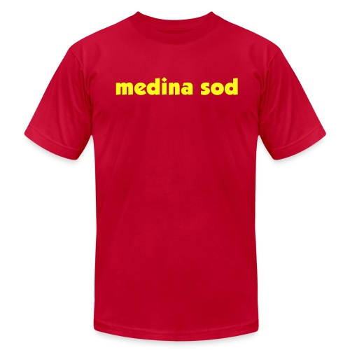 Medina Sod - Men's T-Shirt by American Apparel