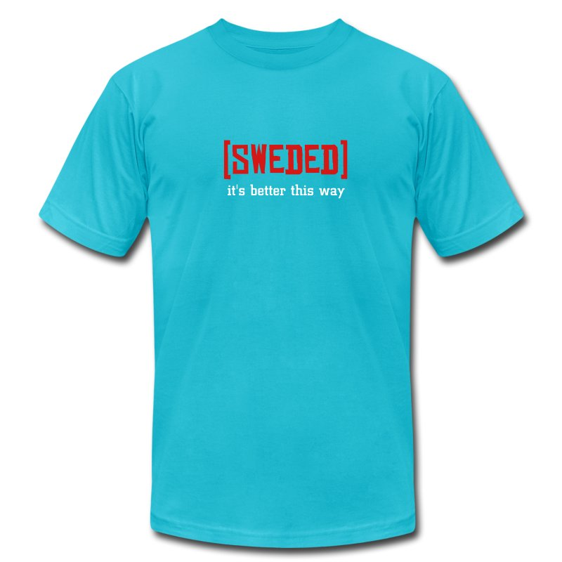 Men's T-Shirt by American Apparel - from all the lovers at SwededCinema.com