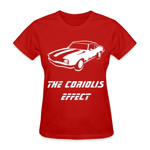 The Effect Car Shirt - Women's T-Shirt