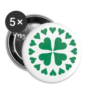 Clover Button - Large Buttons