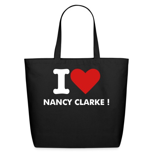 Eco-Friendly Cotton Tote - Designed Especially For Her Remember All Nancy Clarke Merchandise Profits Go To Help Her.