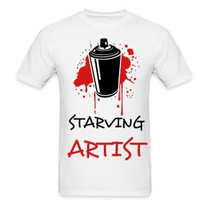 starving artist - Men's T-Shirt