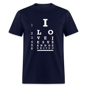 Eye Chart Test - Men's T-Shirt